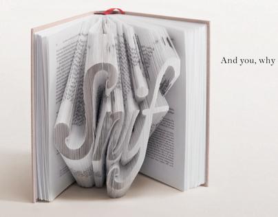 Literary pop ups