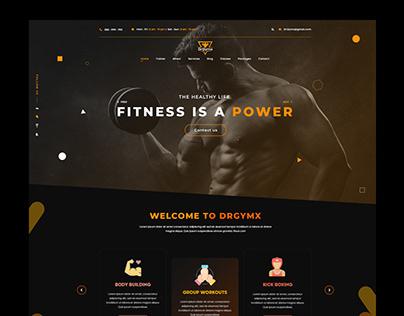 Fitness/Gym Web design