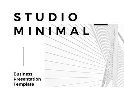 Studio Minimal Profile + Proposal + Business Plan