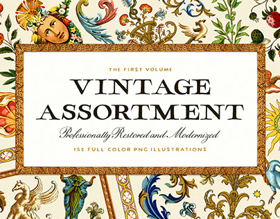 The Vintage Assortment – Volume One By:Vector Hut