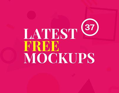 37 Latest Free Mockup Templates for Design Presentation