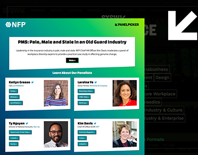 NFP Panel Submission | Responsive Landing Page