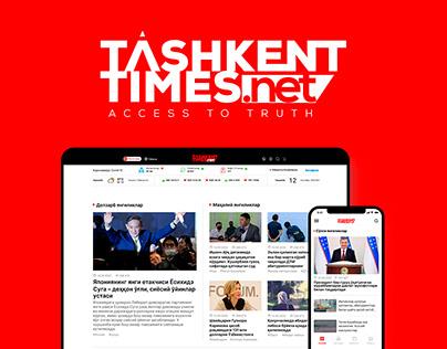 Tashkent-Times.net   Web design