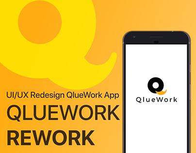 QlueWork Mobile App | UI/UX Redesign