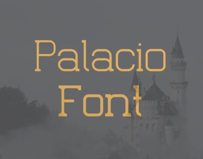 Palacio Free Font