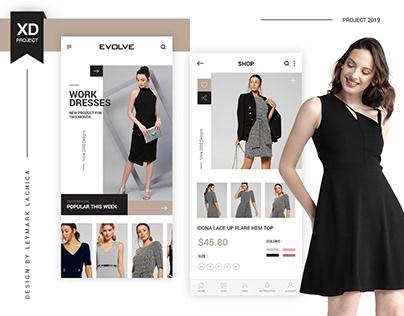 Evolve App UI/UX Design