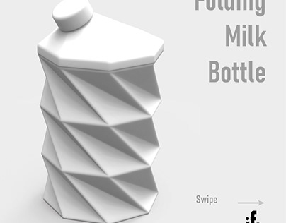 Folding Milk Bottle