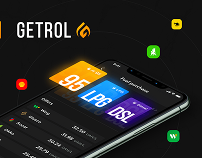 Getrol Mobile App Design | UI/UX