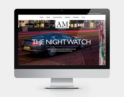 Aston Martin - Digital Magazine
