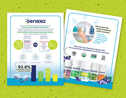 Genexa Educational Social & Sales Campaign