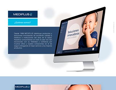 Mediplus - Diseño Web - Involto Agencia