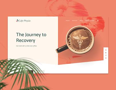 Cafe Physio | Website Design
