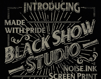 Welcome to Black Show Studio ©