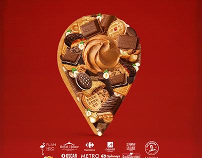 Roshen chocolate Social media