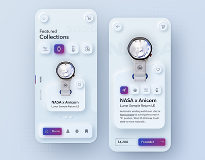 Dribbble collection vol. 1 - Best of 2020