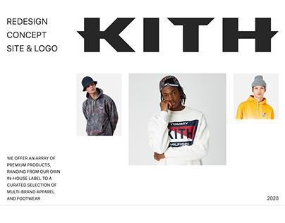 Kith — new website & logo
