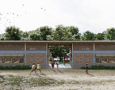 Senegal Elementary School - ARCHSTORMING Competition