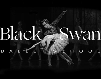 Ballet School Web Design Concept