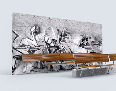 Mobilier urbain / Urban furniture design