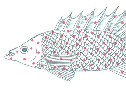 Морская романтика (текстильный дизайн)