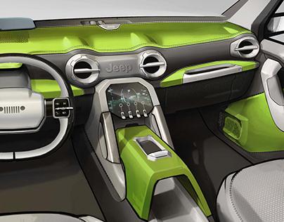 Jeep Interior Design Internship