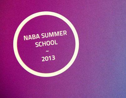 NABA Summer Programs brochure