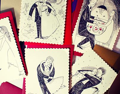 Wedding postcards. Part 1