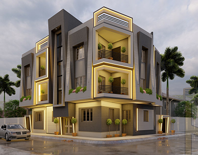 Residential building (Modern style)