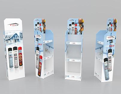 Fix46 foam stand design