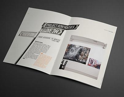 Diseño de títulos Catálogo Exposición POLIS
