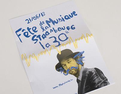Visual Identity - Fête de la musique Strasbourg