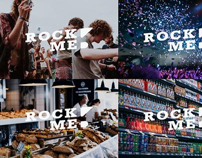 Rockme Branding & App