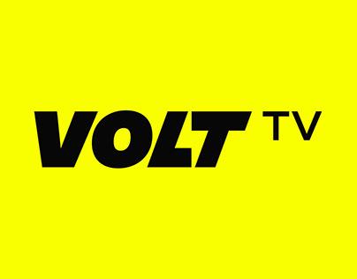 Lightning Volt Logo & Branding - Volt TV