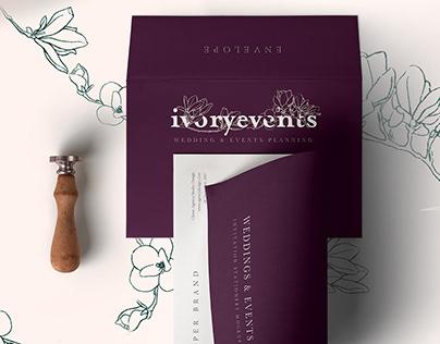 Ivory Events - Branding