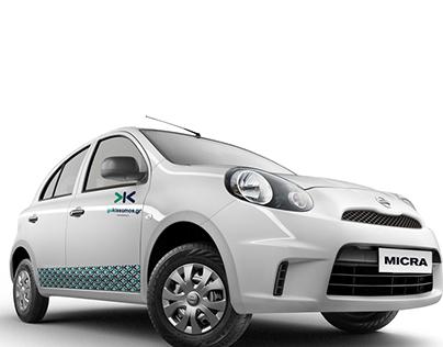 Car Rental Logo & Identity