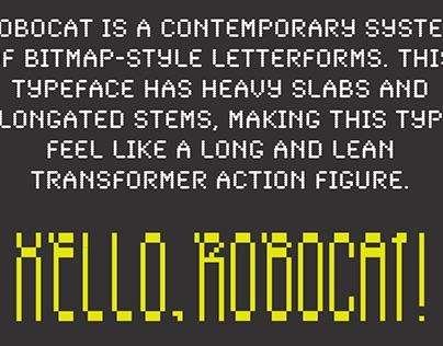 ROBOCAT typography