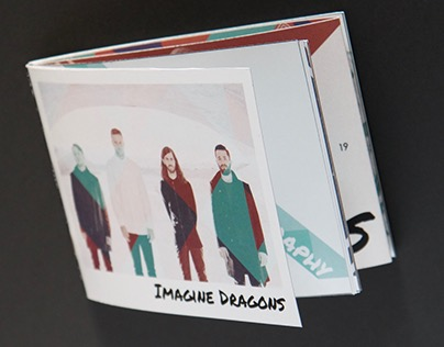 Imagine Dragons - Corporative Material Editorial Design