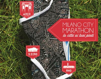 Milano City Marathon Poster