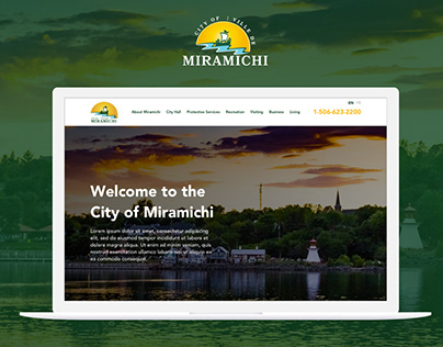 Website Proposal for the City Council of Miramichi