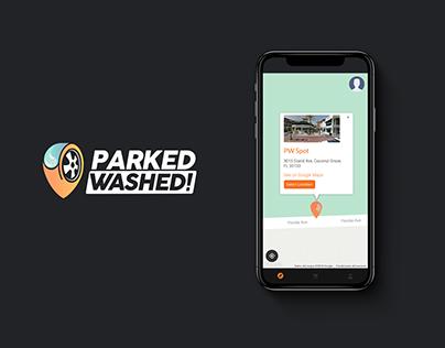 Parked Washed - Mobile App