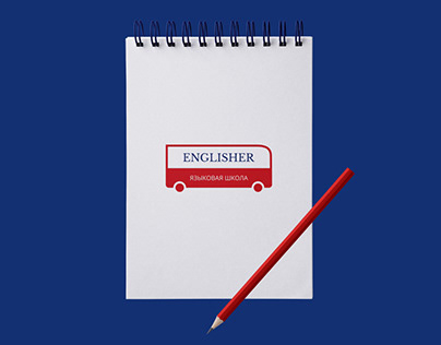 ENGLISHER logo design