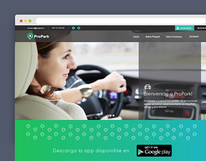 ProPark: sitio web