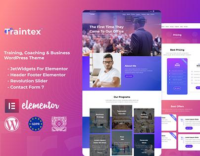 Trainte - Training, Coaching & Business WordPress Theme