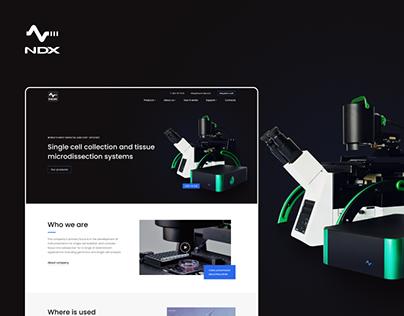 NDX — corporate website