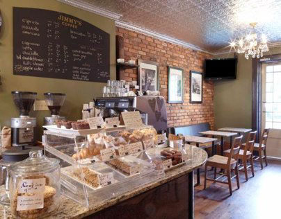 Jimmies, Coffee Shop