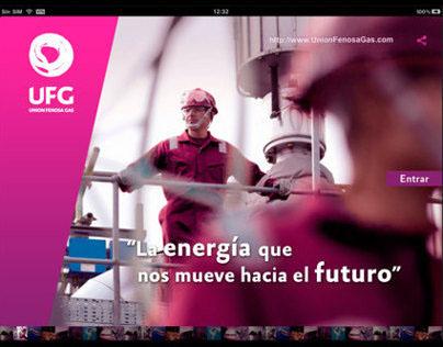 UFG Proyecto web corporativa + app Ipad