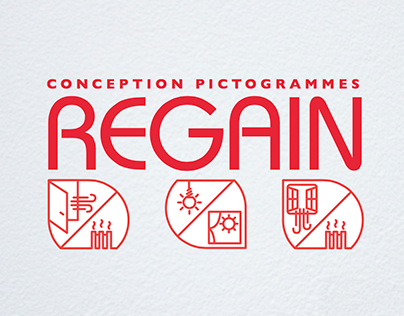 Contest - Pictograms REGAIN (1st Prize)