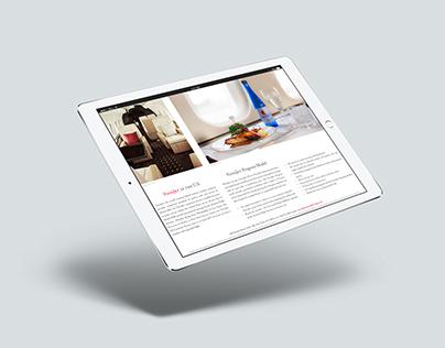 VistaJet Private Jet iPad Advertising