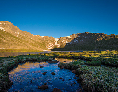 June Morning on Mount Evans