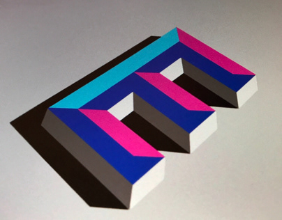 3D letter Type - in only 4 steps!
